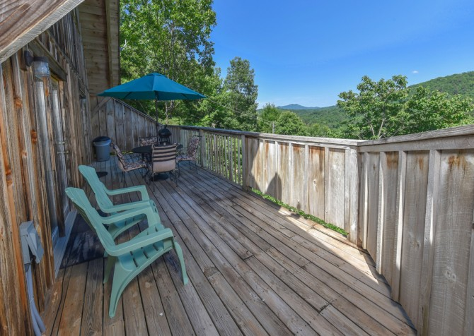 Gatlinburg Cabins - Bella Vista - Open Deck