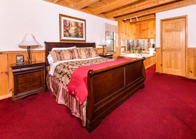 gatlinburg cabin - bella vista - master