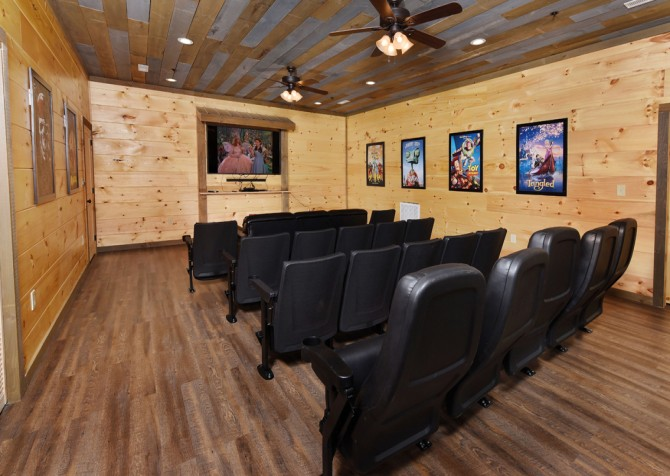 Gatlinburg - Big Bear Views Lodge - Theater Room