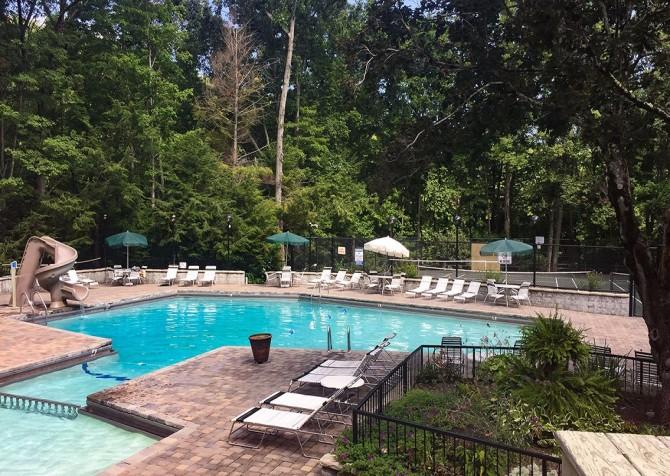gatlinburg cabin - bonnie and clyde - resort pool