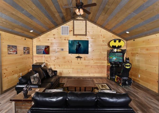 Gatlinburg - Cherokee Dreams Lodge - Rec Room