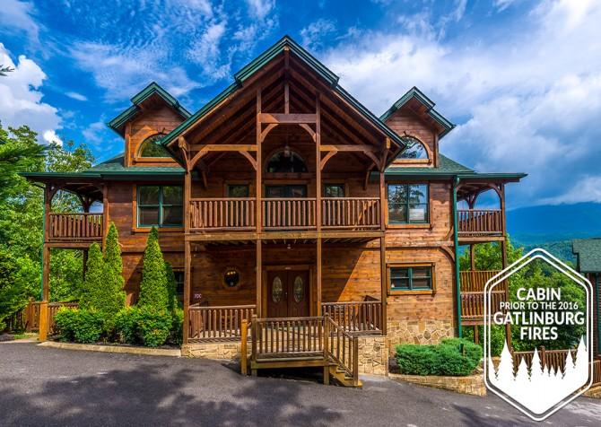 Gatlinburg - Cherokee Dream's Lodge - Exterior