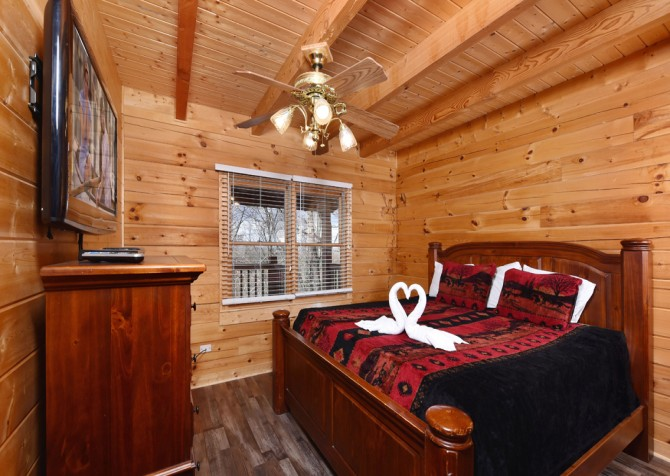 Pigeon Forge - Eagle View - Bedroom