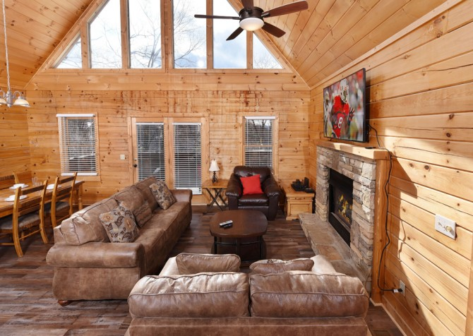 Pigeon Forge - Eagle View - Living Room