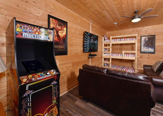 Pigeon Forge - Eagle View - Rec Room