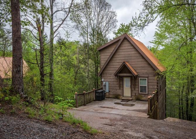 gatlinburg cabin - gatlinburg secret splash - exterior