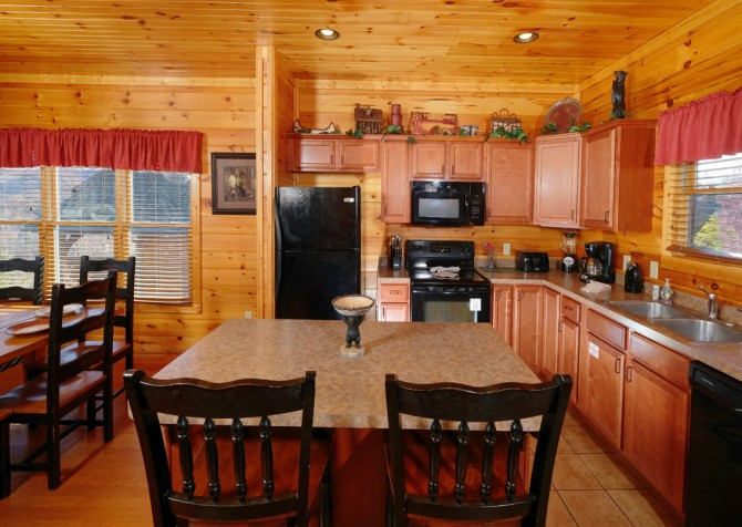 Pigeon Forge - Morning Star - kitchen