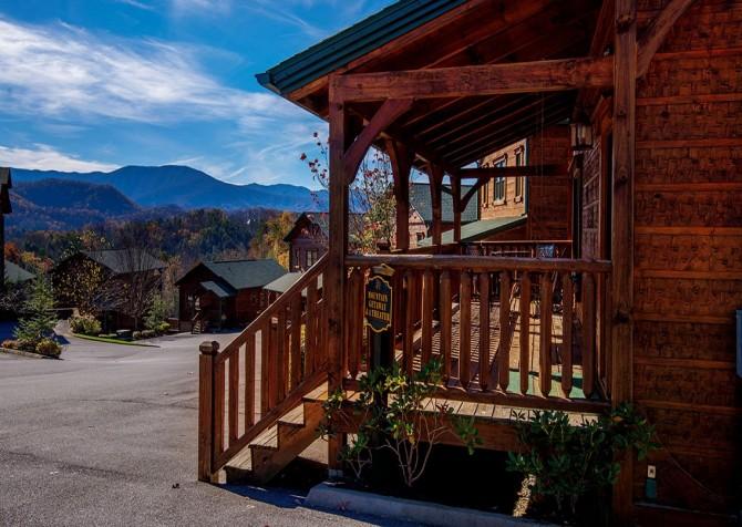 Gatlinburg- Mountain Getaway and a Theater- exterior
