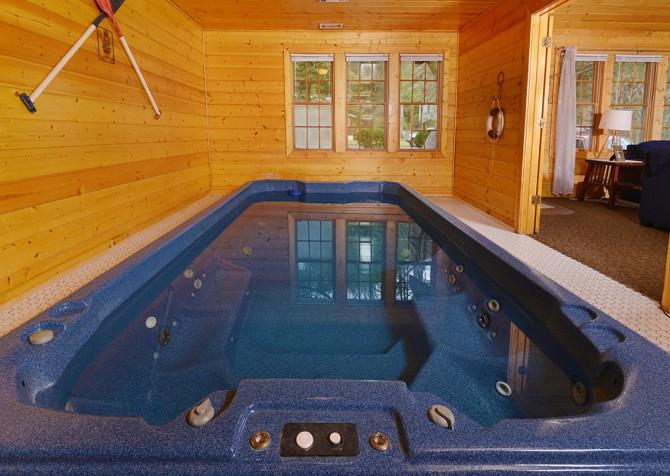 Gatlinburg - Pooling Around - Swim Spa Controls