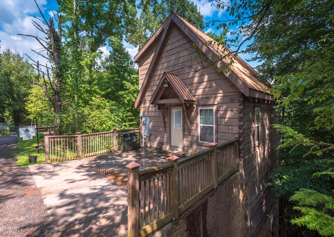 gatlinburg cabin - gatlinburg secret splash - exterior
