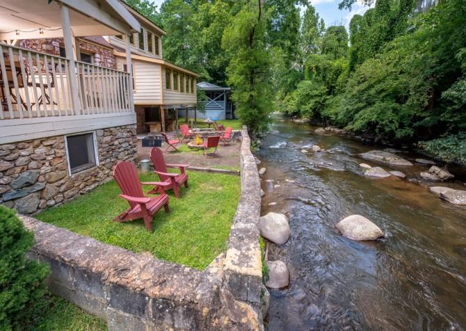 Gatlinburg Cabin - Simone's Cottage - River View