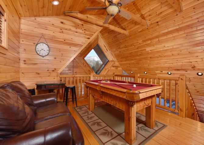 Gatlinburg - Smoky Oak Retreat - Rec Room