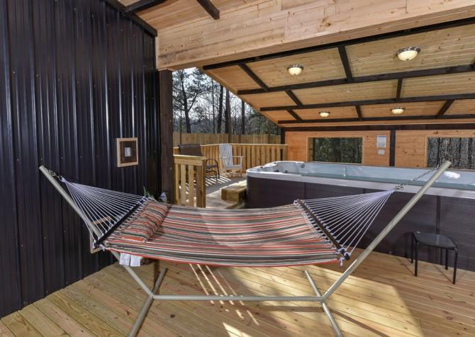 Gatlinburg - The SwimInn Place - Swim Spa/Hammock