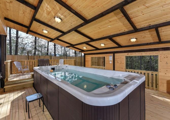 Gatlinburg - The SwimInn Place - Swim Spa