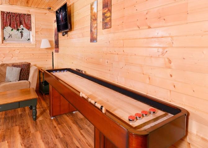 gatlinburg cabin – bird haven – games