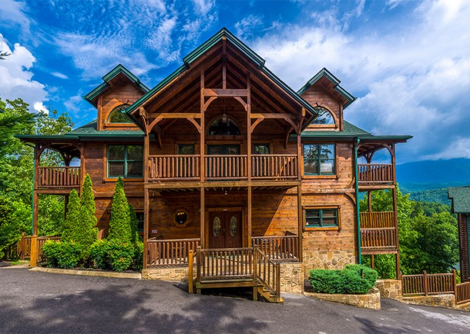 gatlinburg cabin rentals pinnacle vista lodge