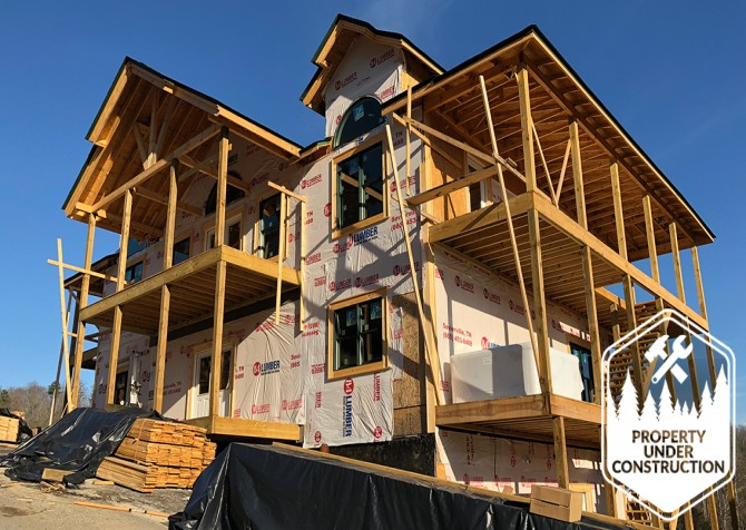 Gatlinburg - Cherokee Dream's Lodge - Exterior Build