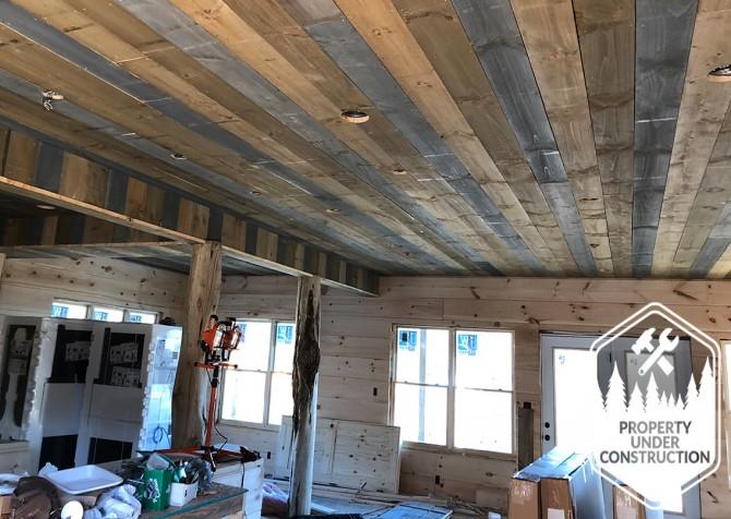 Gatlinburg - Cherokee Dream's Lodge - Living Room Build