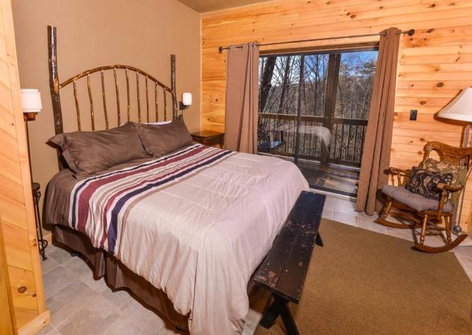 Gatlinburg - A Dream to Night - Bedroom 2