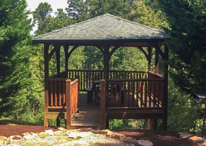 Gatlinburg Falls Resort - Picnic Area