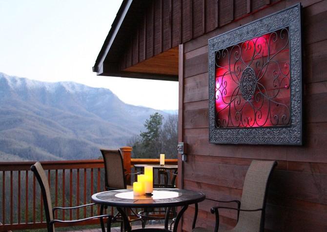 Gatlinburg - A Luxury View - Deck Dining
