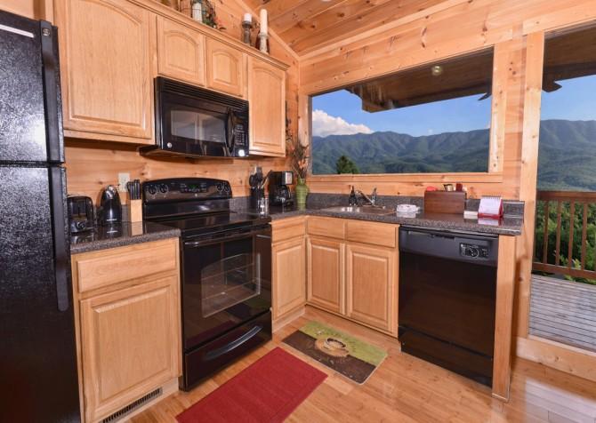Gatlinburg - A Luxury View - Kitchen