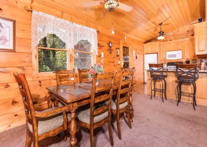 Gatlinburg - A Million Dollar View - Dining