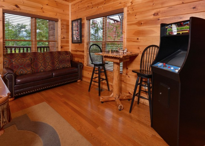 Pigeon Forge - Morning Glory - gameroom