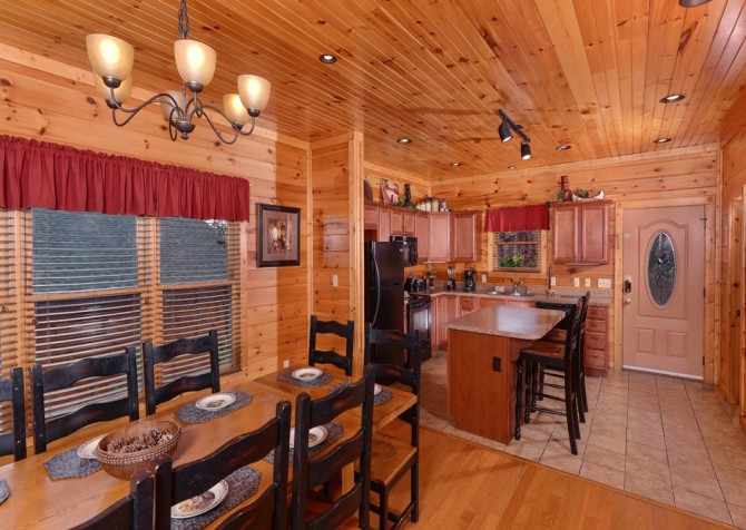 Pigeon Forge - Morning Glory -kitchen
