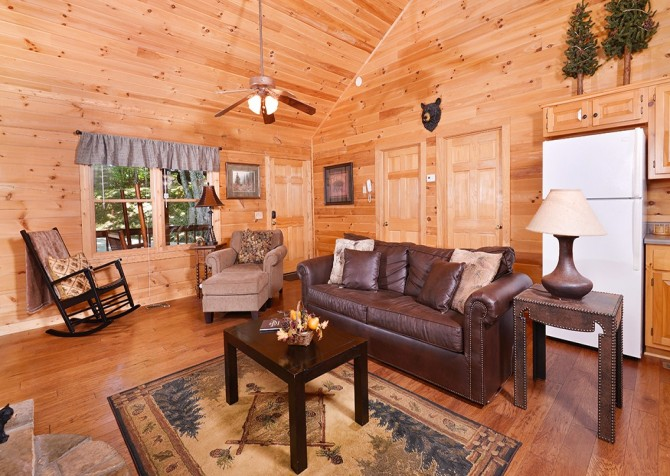 Gatlinburg Cabin- Nature's Splendor - Living Room