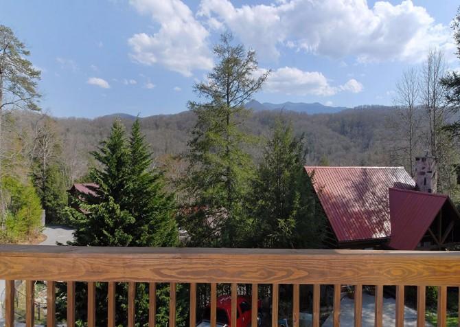 Gatlinburg Cabin- Our Mountain Home – View