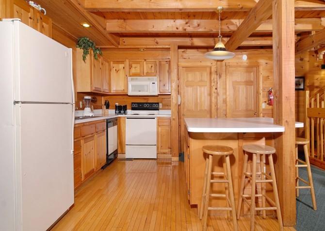 Gatlinburg Cabin- Our Mountain Home – Kitchen