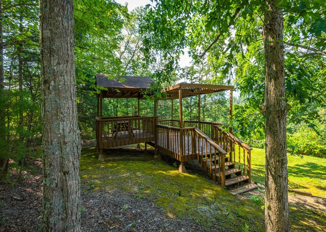 Gatlinburg Cabin- Panorama Point – Gazebo