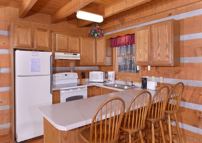 Gatlinburg Cabin- Paradise – Kitchen