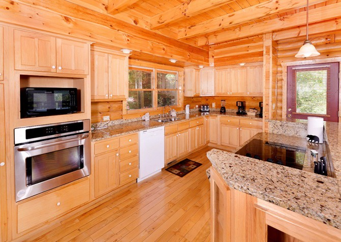 Gatlinburg Cabin - Pinnacle Vista Lodge - Kitchen
