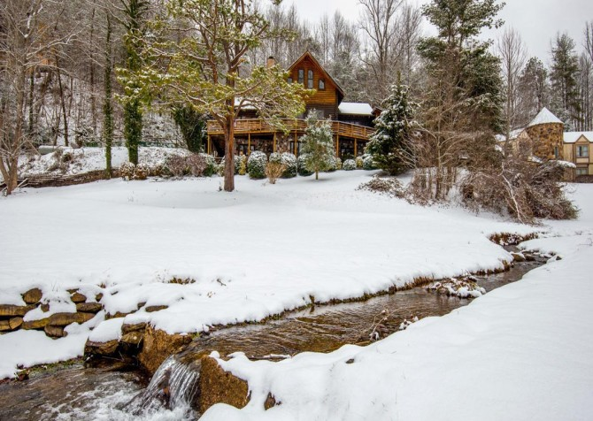 Gatlinburg Cabin- Pop A Bear – Creek