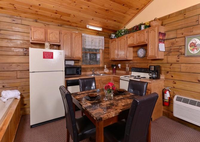 Gatlinburg Cabin- Precious Moments – Kitchen