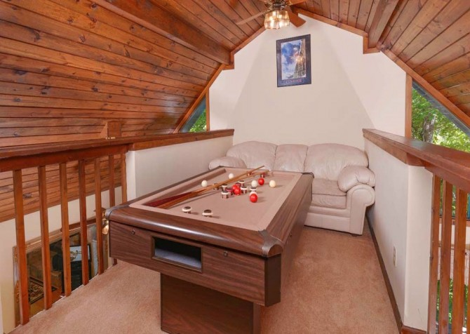 Pigeon Forge - A Romantic Hideaway - Game Area