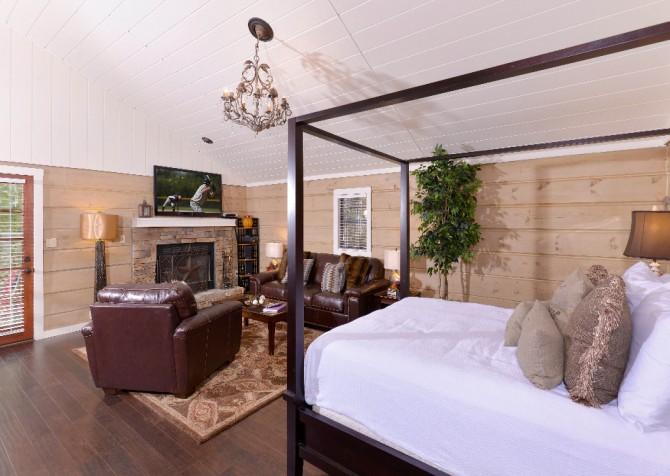 Gatlinburg - Seclusion - Living and Bedroom