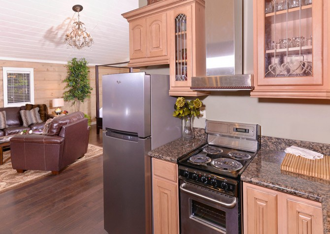 Gatlinburg - Seclusion - Kitchen and Living