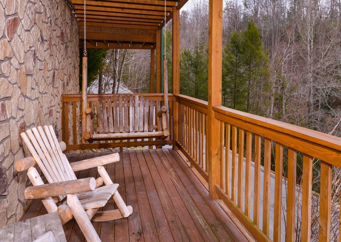Pigeon Forge - Siesta Ridge - deck
