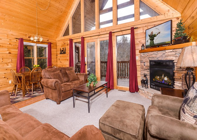 Pigeon Forge - Siesta Ridge - living room