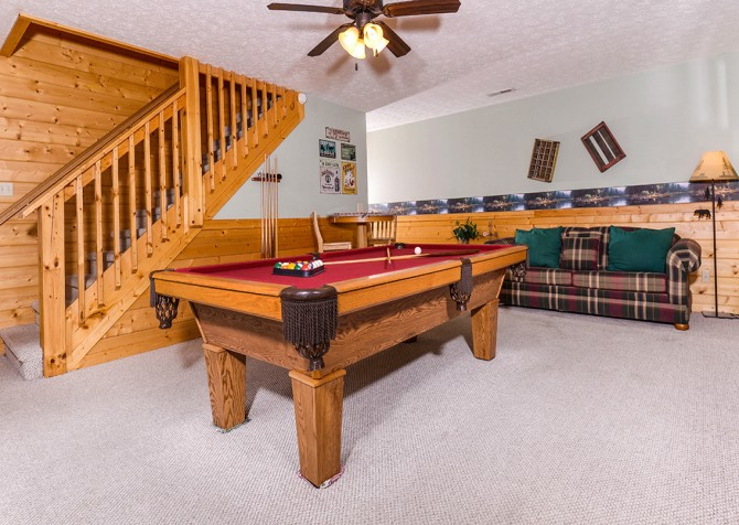 Pigeon Forge - Siesta Ridge - pool table