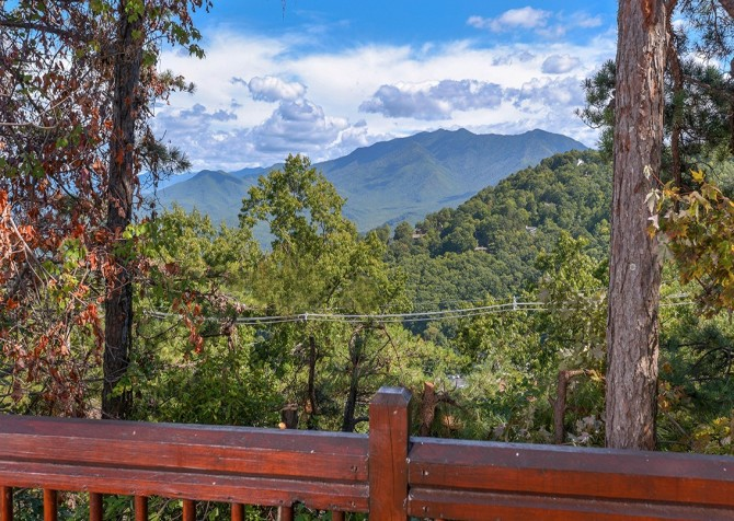 Gatlinburg Squirrel's Nest View