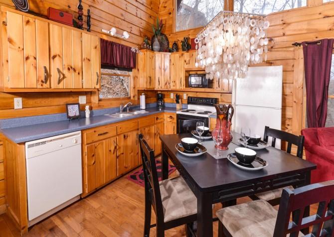 Gatlinburg Sweet Fantasy Dining Room