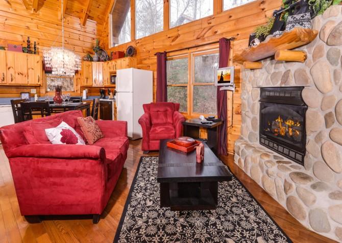 Gatlinburg Sweet Fantasy Living Room