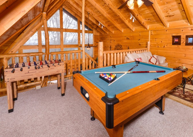 Gatlinburg Sweet Temptations Recreation Room