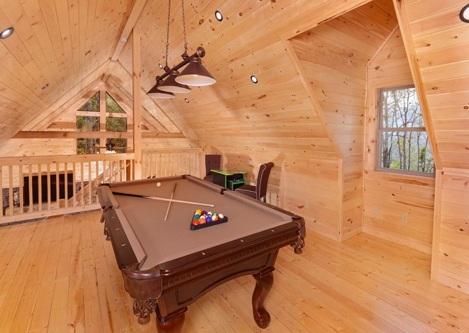 Gatlinburg Swept Away Recreation Room