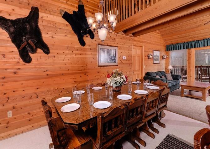 Gatlinburg The Smoky Mountain Lodge Dining Room