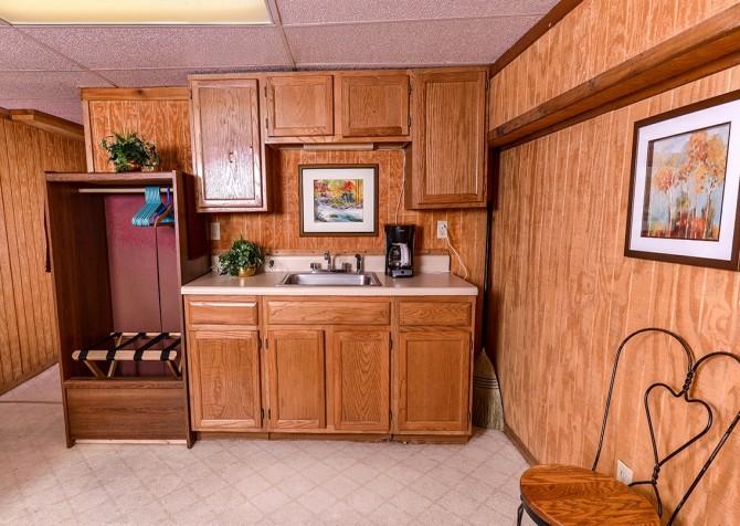 Gatlinburg The Smoky Mountain Lodge Kitchenette